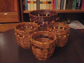 Košíky - kvetinače - 16141