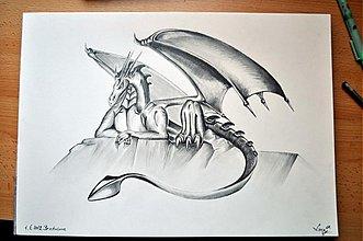 Kresby - Dragon - 1615757