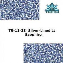 Korálky - 645-T053 TOHO rokajl 11/0 Silver-Lined Lt Sapphire - 1623779