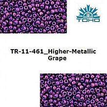Korálky - 664-T068 TOHO rokajl 11/0 Higher-Metallic Grape - 1623843