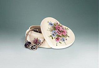 Krabičky - Šperkovnica srdce veľká - gladis - 1626889