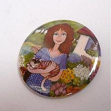 Magnetky - Kouzelná zahrada - magnet - 1628872