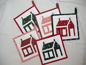 Úžitkový textil - chňapka škola cez prázdniny - 1631542