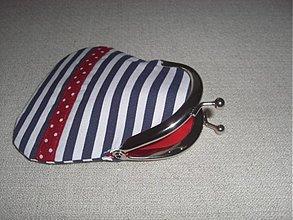 Peňaženky - Námornícka-mini-peňaženka - 1632836