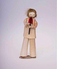 Dekorácie - Muž s píšťaľkou - 1637070