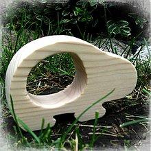 Dekorácie - drevené zvieratko - 1638379