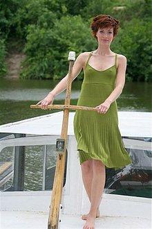 Šaty - letní šaty na ramínka ZITA - 1638426