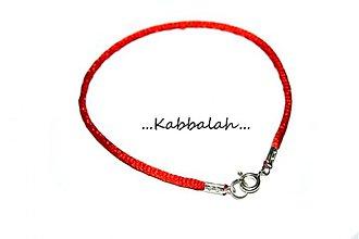 Náramky - kabbalah náramok Ag925 - 1643586