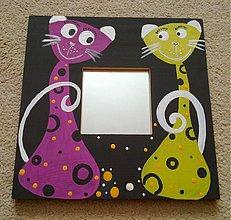 Zrkadlá - two cats - 1653420