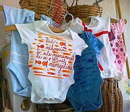 Detské oblečenie - Nič nehovorím... - 1653587