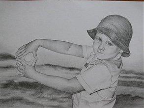 Kresby - Kresba - portrét A4 - na objednávku - 1659269