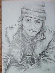 Kresby - Johnny Depp - kresba - 1659431