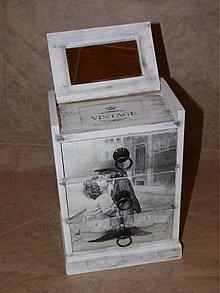 Krabičky - Krásna šperkovnica - retro motív - 1663331