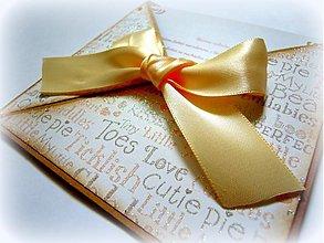 Papiernictvo - Cute baby... - 1666453