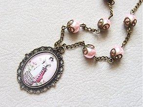 Náhrdelníky - baroková dáma - 1666946