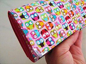 Peňaženky - Veselé mini sovičky - ve větším provedení - 1670924