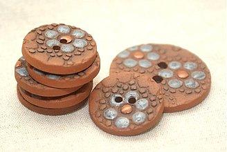 Galantéria - Čipkogombík 3cm - 1679233