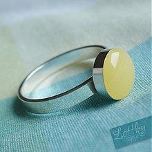 Prstene - Koktejlkový prstýnek - stříbro - 1680261