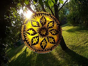Dekorácie - Mandala..vesmírne Stromy - 1692076