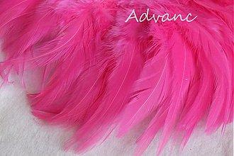 Suroviny - Kohútie jednofarebné rúžové R15 - 1692265