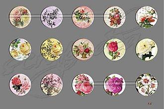 Materiál ručne robený - Motívy na šperky č.15-akcia 4+1 na všetky - 1703606