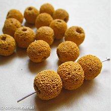 Minerály - žltá láva, 12 mm - 1711709