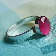 Prstene - Framboise prstýnek - stříbro - 1714852