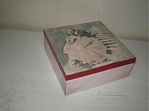 Krabičky - Śperkovnička vintage - 1720714