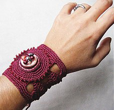 Náramky - V znamení purpurovej... - 173265
