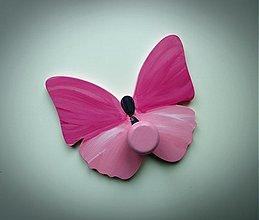 Nábytok - vešiak motýľ - 1733316