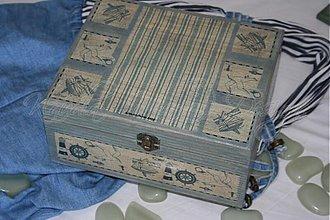 Krabičky - krabica pre námorníkov - 1733429