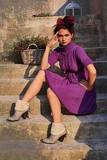 Šaty - AlexDress vo fialovom - 1734482