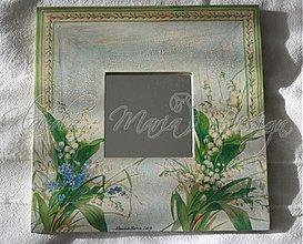 Zrkadlá - zrkadlo konvalinky - SKLADOM - 1735990