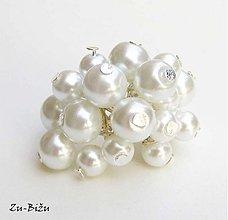 Prstene - Preličkový prsteň, Biele - 1739361