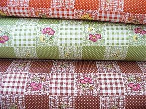Textil - Bavlna - Subtle patchwork - 1743057