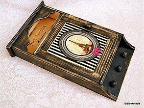 Krabičky - Paris skrinka na kľúče - 1743062