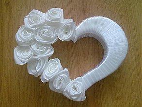 Dekorácie - svadobné srdiečko ♥ - 1743601