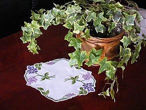 Úžitkový textil - vôňa orgovánu - 1749187