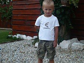 Detské oblečenie - malý Fishunter ( lovec rýb) - 1752394