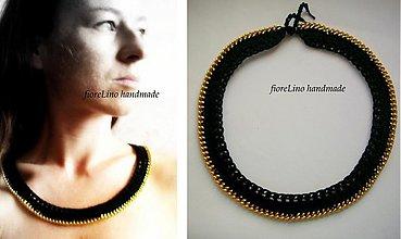 Náhrdelníky - na retiazke - náhrdelník - 1752760