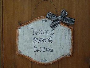 Tabuľky - Tabuľka home sweet home :-) - 1753814
