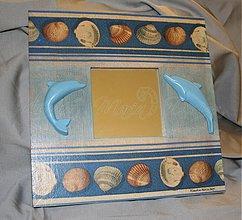 Zrkadlá - zrkadlo delfin - SKLADOM - 1756034