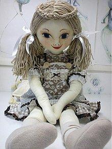 Bábiky - bábika textilná veľká MARA /na želanie/ - 1756147