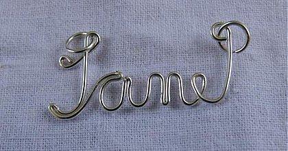 Náhrdelníky - Meno na želanie - Jane - 1758478