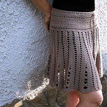 Návody a literatúra - Háčkovaná sukně - návod - 1763175