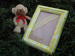 Rámiky - slniečkový foto rámik - 1763988