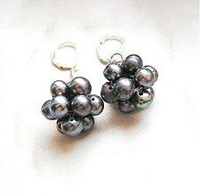 Náušnice - Kuličky z perel - 1764542