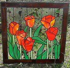 Dekorácie - Tulipánová impresia - 1774570