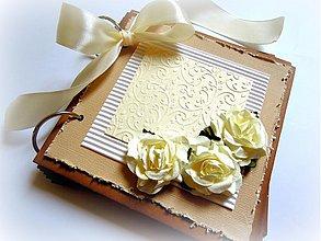 Papiernictvo - Vanilkové očarenie... - 1790701