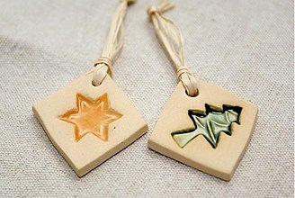 Dekorácie - Visačky na vianočné darčeky - 1797278